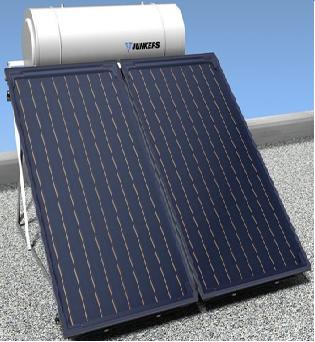 Termosifones junkers energ a solar para agua caliente - Agua caliente solar ...
