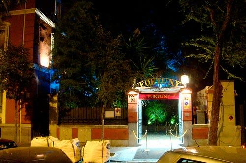 PALACIO FORTUNY Restaurante/Discoteca.