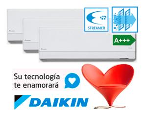 DAIKIN 3MXM52M + (3) FTXA25AW