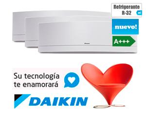 DAIKIN 3MXM52M + (3) FTXJ25MW