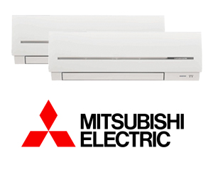 MITSUBISHI ELECTRIC MXZ-2D33VA + (2)MSZ-SF15VA/VE2