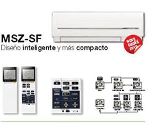 MULTI SPLIT  PARED SF MXZ-2D33VA + (2)MSZ-SF15VA/VE2